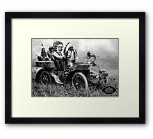Apache Acme Cab. Framed Print