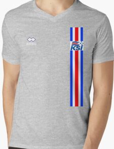 Euro 2016 Football - Iceland Mens V-Neck T-Shirt