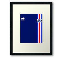 Euro 2016 Football - Iceland Framed Print