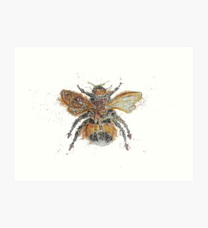 Bee Steampunk Art Print