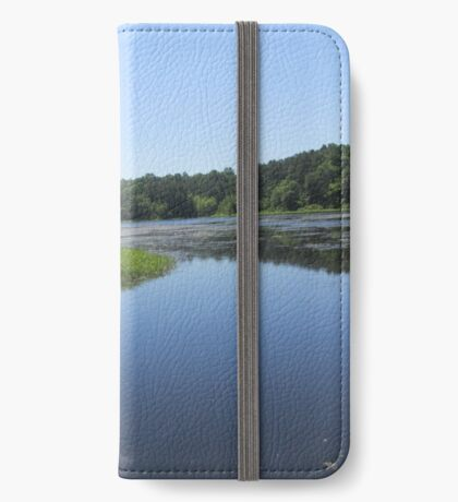 natures reflection iPhone Wallet/Case/Skin