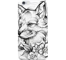 Forest Fox iPhone Case/Skin