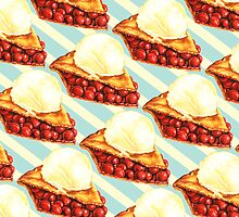 Cherry Pie Pattern by KellyGilleran