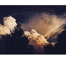 Transient Cumulonimbus Photographic Print