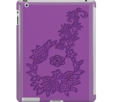 A floral Emboss  (5505 views) iPad Case/Skin