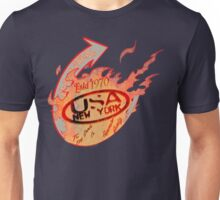 flames usa ny by rogers brothers Unisex T-Shirt