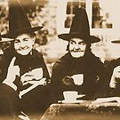 Witches Tea Party - sepia by Bela-Manson