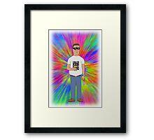 Dank Hank Framed Print