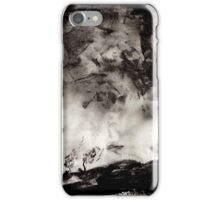 Charcoal Landscape iPhone Case/Skin