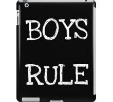 Boys Rule iPad Case/Skin