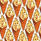 Vanilla Soft Serve Pattern by KellyGilleran
