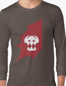 HTTYD Toothless's Tail&Hiccups Skull logo Long Sleeve T-Shirt