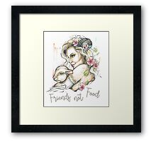 For the love of all life. Framed Print