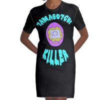 Tamagotchi Killer Graphic T-Shirt Dress