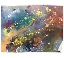 Intricate Galaxy Painting Poster