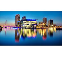 Salford Quays Media City Photographic Print