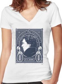 Consulting Detective 2 Women's Fitted V-Neck T-Shirt