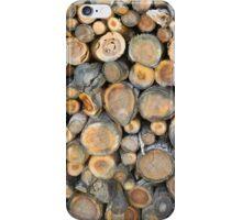 Wood Logs iPhone Case/Skin