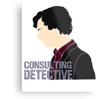 Consulting Detective 3 Metal Print