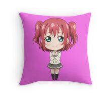 Kurosawa Ruby Chibi Throw Pillow