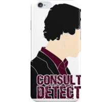 Consulting Detective 4 iPhone Case/Skin