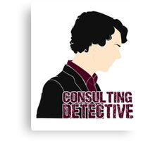 Consulting Detective 4 Canvas Print