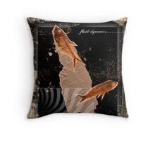 fossil 4 Throw Pillow