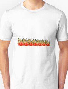 Feuer flammen kunst design  Unisex T-Shirt