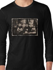Witches Tea Party - old black/white Long Sleeve T-Shirt