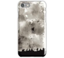World War Ink Drawing iPhone Case/Skin