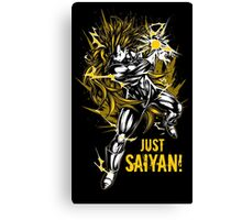Super Saiyan Goku Shirt - RB00124 Canvas Print