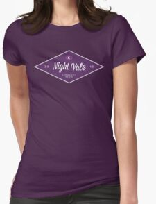 Night Vale Community Radio Womens Fitted T-Shirt