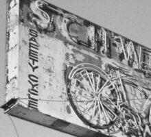 Expired Film: Vintage Schwinn Neon Sign - LA Sticker