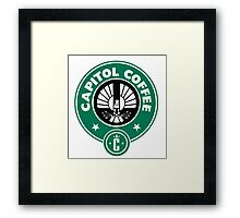 Capitol Coffee Framed Print