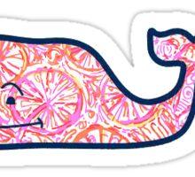 Vineyard Vines Lilly Pulitzer Pink/Orange Sticker