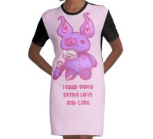 I Need some extra love and care Graphic T-Shirt Dress
