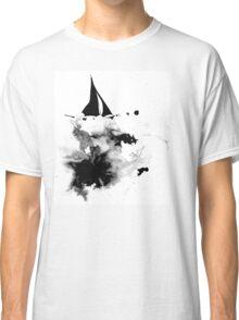 Ink Sailboat Classic T-Shirt