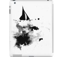 Ink Sailboat iPad Case/Skin