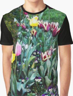 Tulip Garden Graphic T-Shirt