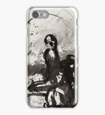 Ink Drawing iPhone Case/Skin