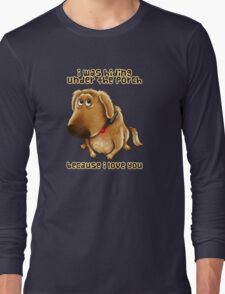 Hiding Under the Porch Long Sleeve T-Shirt