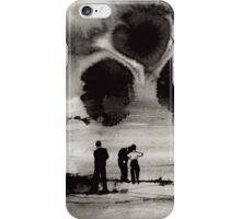 Ink Drawing- Storms Coming In iPhone Case/Skin