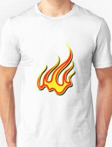 Feuer flammen kunst  Unisex T-Shirt