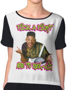 Pick a fight move to Bel-Air Chiffon Top