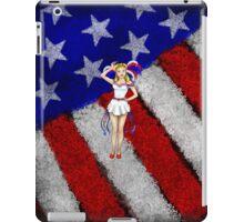 Fourth of July Lady iPad Case/Skin