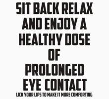 Bo Burnham - Prolonged Eye Contact Kids Tee