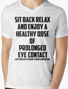 Bo Burnham - Prolonged Eye Contact Mens V-Neck T-Shirt