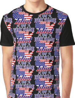 Trump Village Idiot Graphic T-Shirt
