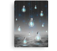 Shine From Within (Shine Bright Series) • Ice Blue  Canvas Print