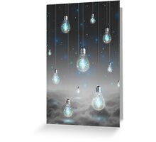 Shine From Within (Shine Bright Series) • Ice Blue  Greeting Card